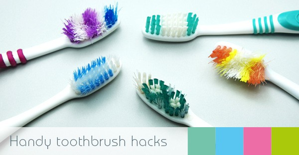 toothbrush hacks